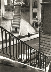Alfred Eisenstaedt - Left Bank, Paris, 1964.